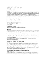 Landscaping Job Description For Resume by Kendra Resume