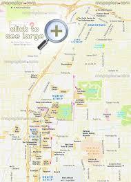 las vegas blvd map las vegas maps top tourist attractions free printable city