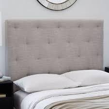 bed head board diamond tufted headboard west elm
