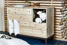 ikea nornas furniture finds four drawer chest from ikea s new norn繖s collection