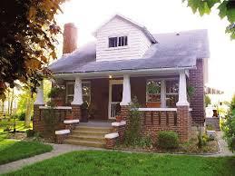Houses With Big Porches 1940s Bungalow With A Big Front Porch Bungalow Love Pinterest