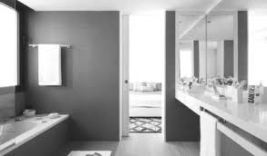 black and white bathroom decorating ideas black white striped wall and yellow wooden mirror connected by black