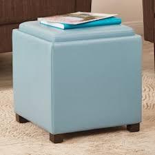 Teal Storage Ottoman Storage Ottomans U0026 Poufs Furniture Kohl U0027s