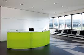 Modular Reception Desk Informa Is A Reception Desk To Enable Communication In Waiting Areas