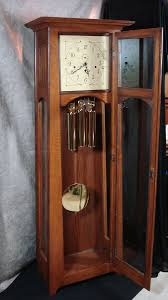 Mantle Clock Kits Hand Crafted Mission Style Grandfather Clock By Dwf Gallery