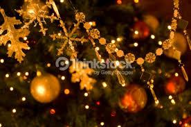 ornaments on a tree stock photo thinkstock