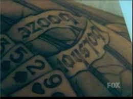 prison break tattoo quiz bolshoi booze everyjoe