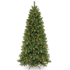 national tree co lehigh valley pine 7 5 green slim hinged