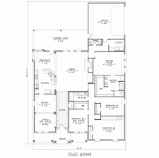 simple rectangular house plans lovely 4 bedroom house plans with front porch house plan