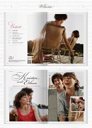 create your own wedding program create your own wedding magazine with twenty pages weddbook