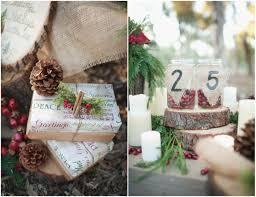 rustic christmas wedding centerpieces ideas wedding party decoration