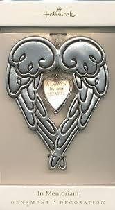 hallmark in memoriam ornament home kitchen