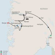 Norway World Map by The Best Of Norway Tour Globus Escorted Travel