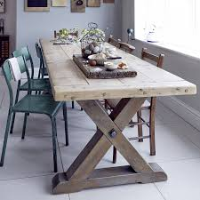 Reclaimed Timber Dining Table Tremendeous Reclaimed Timber Country Dining Table By Home Barn On