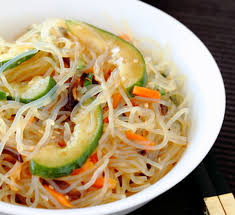 noodle salad recipes spicy shirataki noodle salad recipe japan centre