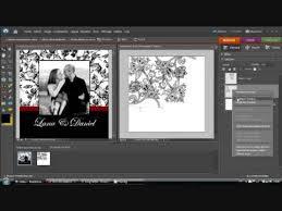crã er faire part de mariage créer un faire part mariage pas cher avec photoshop partie 2