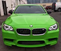 lime green aston martin very lime green f10 bmw m5 looks great