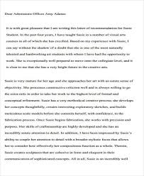 writing guidelines recommendation letter college recommendation