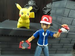 action figure barbecue action figure review ash pikachu from
