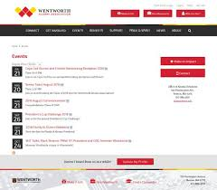 alumni website software imodules software website wentworth institute of technology