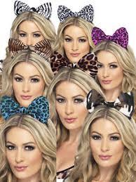 tiger headband animal print hair bow headband zebra camouflage leopard