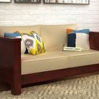 Buy Two Seater Sofa Two Seater Wooden Sofa Set Dynaboo Co