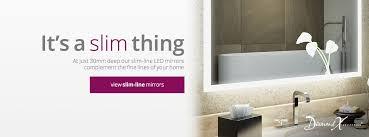 bathroom mirrors u0026 bathroom cabinets illuminated mirrors