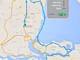 lagos city map dalung commends lagos state for reviving lagos city marathon