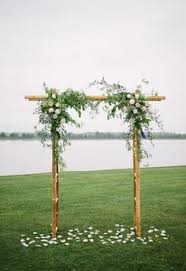 wedding arches and arbors handmade wood arbor for wedding ceremony enchanting