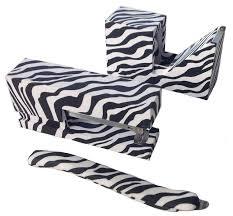 zebra print desk accessories amazon com zebra print stationery set stapler tape dispenser