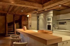 chalet cuisine modern chalet interior design cosy neve design