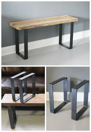 Make Your Own Reclaimed Wood Desk by Best 25 Table Legs Ideas On Pinterest Diy Table Legs Metal