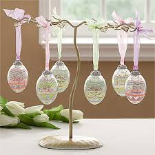 easter egg display these crackle glass eggs are gorgeous and would make a beautiful