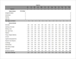 Small Business Accounting Excel Template Accounting Spreadsheet Template 6 Free Excel Pdf Documents