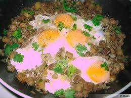 cuisine orientale recette oeufs frits à l orientale recette de cuisine