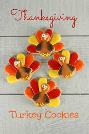 thanksgiving turkey cookies lil miss cakes