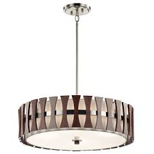kitchen lighting modern pendant lights rectangular polished nickel