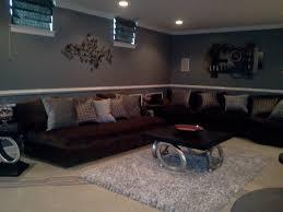 man cave basement lounge theme contemporary living room dc