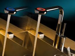 robinet cuisine design un mitigeur sensible aux couleurs inspiration cuisine