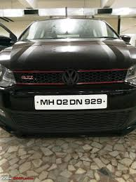 volkswagen polo headlights modified my vw polo gt tsi modified team bhp