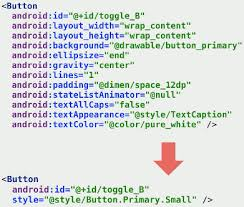 android button style android resources refactoring