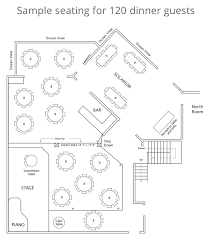 seating and floor plan the douglas beach house seating 120 dougals beach house small