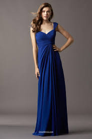 royal blue chiffon bridesmaid dresses royal blue chiffon bridesmaid dress draped sweetheart neck