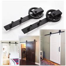 Steel Barn Door by Online Buy Wholesale Barn Steel Sliding Single Door Hardware From