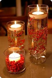best image of how to make a christmas centerpiece with candles