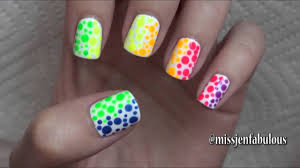 summer nail art three easy designs youtube