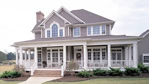 house plans with front and back porches home plan homepw09941 2112 square foot 3 bedroom 2 bathroom