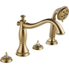 Tub Faucet With Handheld Shower Fontaine Bellver Brushed Nickel Roman Tub Faucet With Handheld