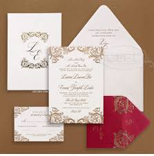 Debut Invitation Card 10 Breathtaking Red And Gold Wedding Invitations To Inspire You