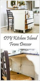 Kitchen Islands For Small Spaces Bookshelf Kitchen Island Tutorials Kitchens And House